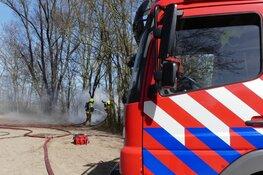 Natuurbrand vlakbij Schagerbrug