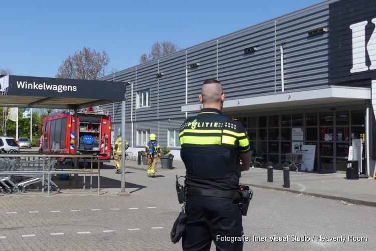 Brand bouwmarkt Schagen