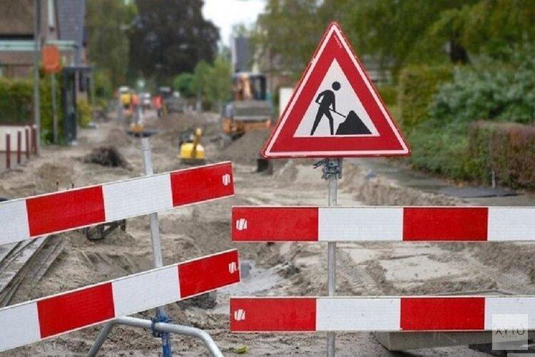 Wegwerkzaamheden Zuiderweg in Schagen