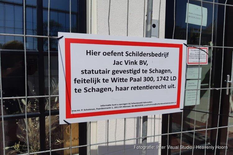 Schildersbedrijf past retentierecht toe op Hotel Marktstad