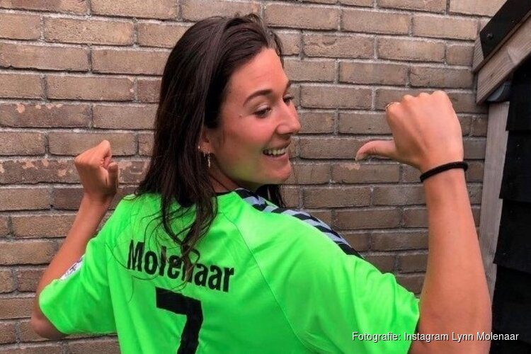 Handbalster Lynn Molenaar van Noorwegen naar Duitsland