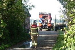 Politie merkt brand op in Callantsoog