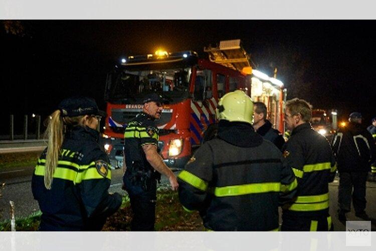 Bewoonster Tuitjenhorn aan ramp ontsnapt door uitgebrande wensballon