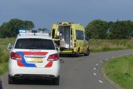 Motorrijder gewond bij eenzijdig ongeval