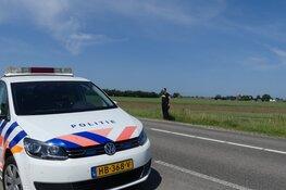 Auto in sloot in Barsingerhorn