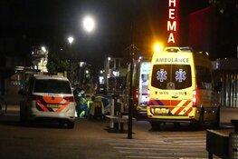 Gewonde man aangetroffen op Nieuwstraat