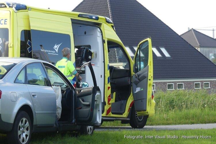 Botsing met twee auto's bij Oudesluis
