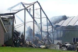 Schade goed zichtbaar na brand in 't Veld