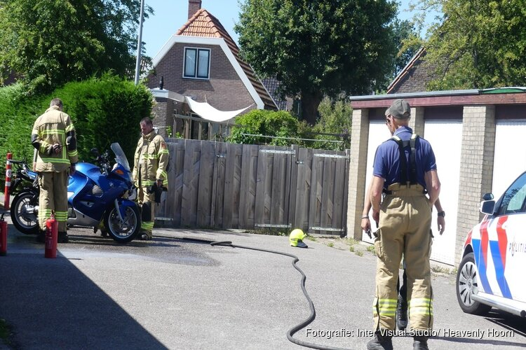 Motor oververhit in Schagerbrug