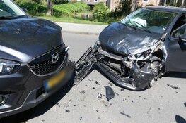 Drie gewonden na ongeval Hofstraat