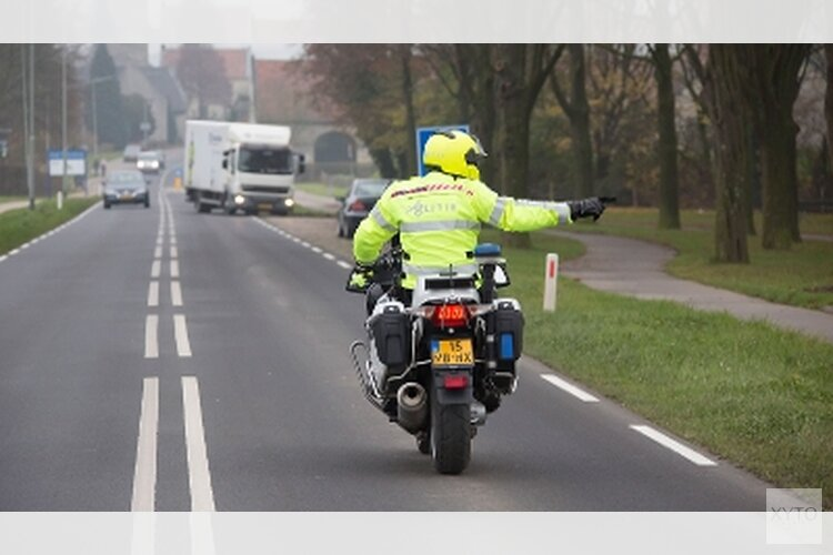 Verkeerscontroles in de Duinstreek Noord-Holland