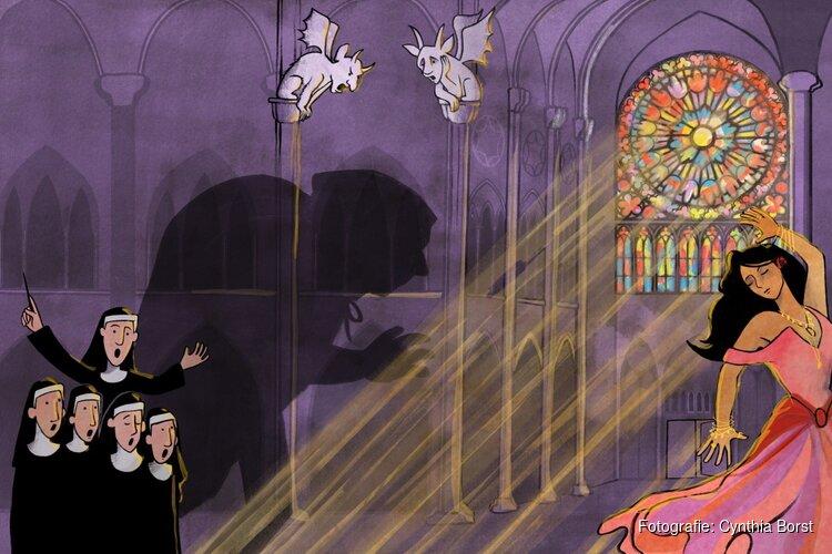 'De Klokkenluider van de Notre Dame'. komt naar het Scagon Theater
