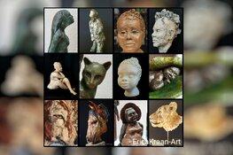 Open dagen in atelier Erica Kraan-Art op 5 & 6 september