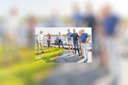 Eerste bijdrage 'Fonds zonneparken Schagen' tijdens feestelijke opening