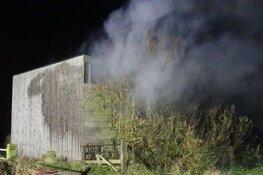 Twee nachtelijke branden in Schagen, vermoedelijk aangestoken