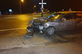 Automobiliste gewond bij ongeval Schagerweg