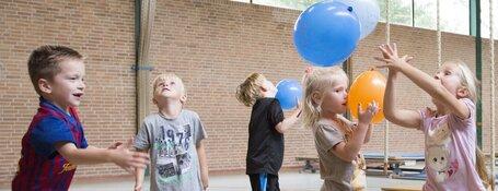 Gratis beweeginstuif voor jonge kinderen van 0-4 jaar