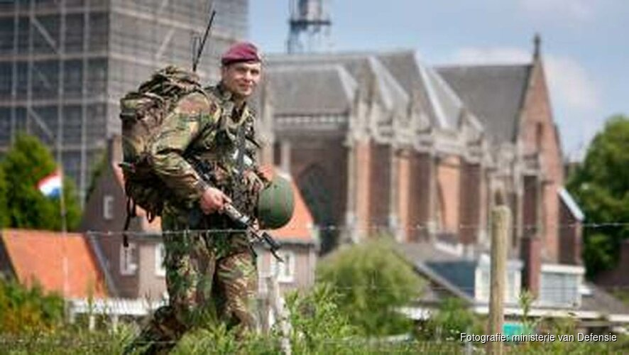 Militaire oefening Koninklijke Landmacht