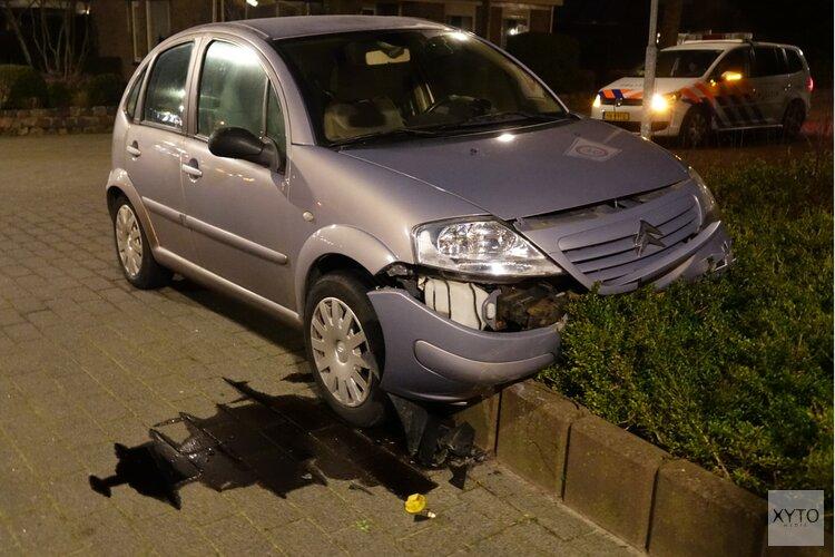 Ongeluk op de Havenstraat in Schagen
