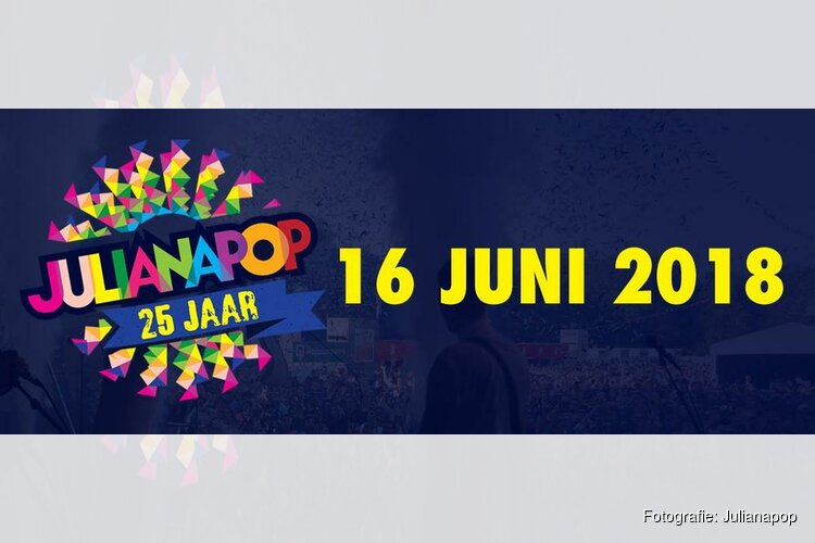 Eerste namen jubileum line-up Julianapop bekend