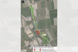 Aanleg laatste deel fietspad N241 in Zijdewind