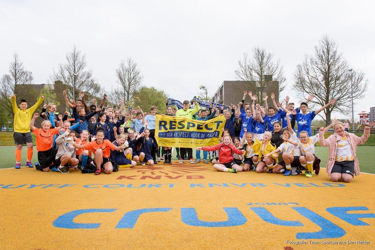 Basisschool De Fontein Den Helder.Sportieve Kwartfinale 6 Vs 6 Op Cruyff Court In Den Helder