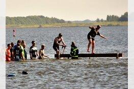 Tijgeren over Wad en Lutjestrand tijdens Wieringer Obstacle Run