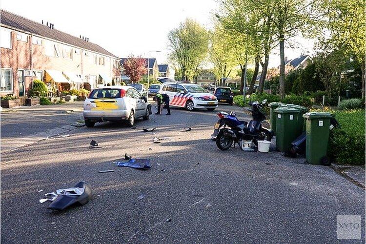 Scooterrijder gewond na botsing