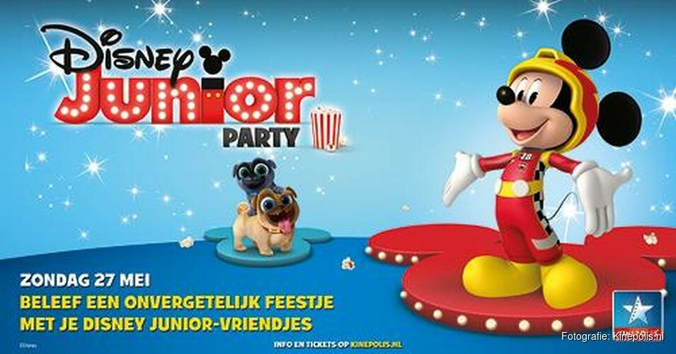 Kleuterbios: Disney Junior Party in Cinemagnus Schagen