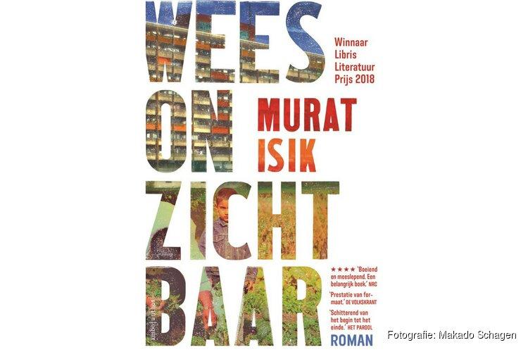 Libris Literatuurprijswinnaar Murat Isik bij boekhandel Plukker