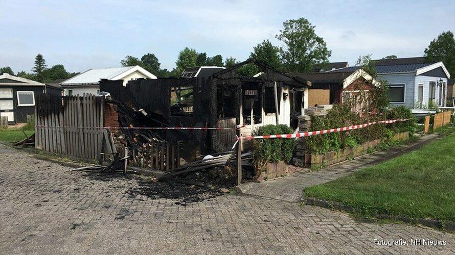 Onrust op vakantiepark Dirkshorn na verwoestende brand in huisje