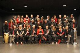 Concert Schagens Harmonie met No-Claim Bijzonder project in het Scagon Theater