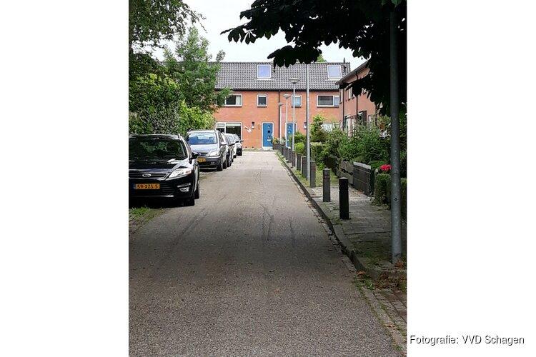 Burg. Hulststraat (Schagerbrug) slecht bereikbaar voor brandweer VVD Schagen stelt vragen over zorgelijke situatie