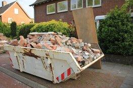 Container voor de deur? Noord-Hollanders betalen de hoogste stoeptax