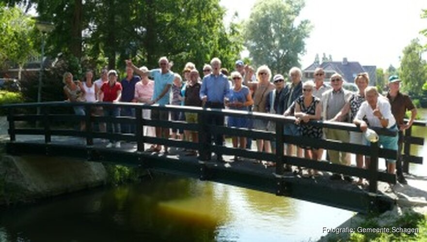 Baanpark in Warmenhuizen feestelijk geopend