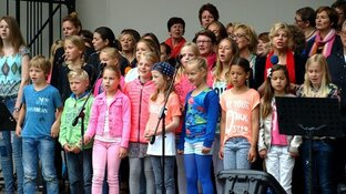 "15 juli ""Young voices en The voices"" in de muziektuin"