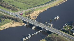 Noord-Hollandse bruggen uit voorzorg gekoeld