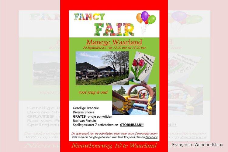 Fancy Fair bij Manege Waarland
