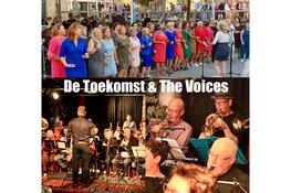 Orkest De Toekomst en Koor The Voices treden samen aan  in het Scagon Theater