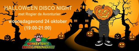 Monkey Town Schagen – Halloween Disco Night