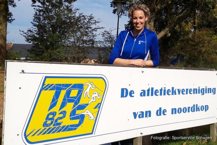 Atletiekvereniging TAS'82 start met verenigingsondersteuner