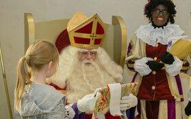 Sinterklaas en pieten in de bieb Schagen en Tuitjenhorn