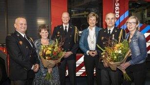 Koninklijke onderscheiding voor Fred van den Berg en Jos Verweij